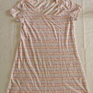 Victoria's Secret Short Sleeve Nightdress Size M